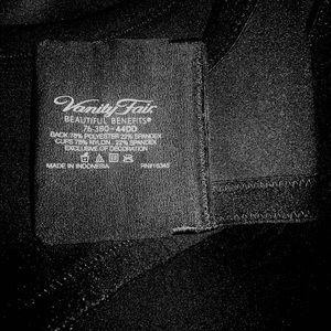 Vanity Fair Intimates & Sleepwear - Gorgeous Vanity Fair Bra Black ~ Size 44DD